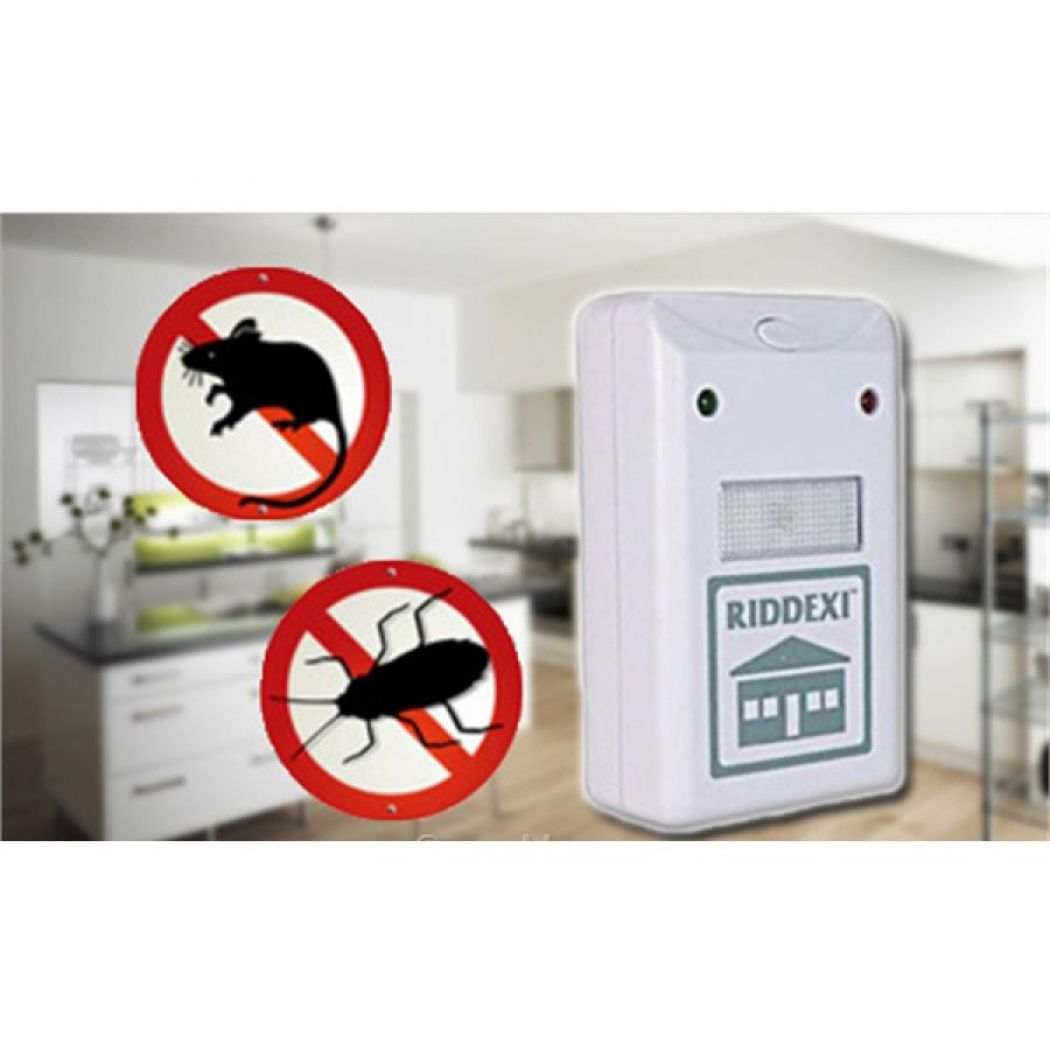 Pest Repelling Aid Dual Ultrasonic Mouse Mosquito
